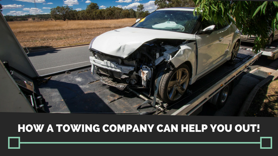 How a towing company can help you out!
